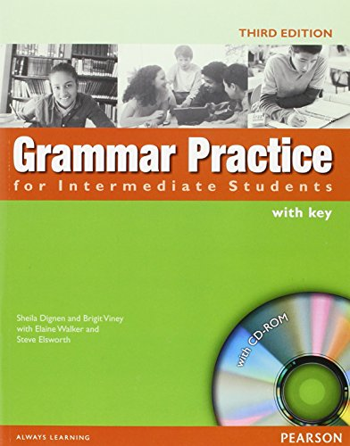Grammar Practice Intermediate Book and CD-ROM (with Key)