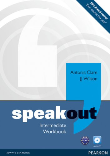 Speakout Intermediate Workbook (no Key) and Audio CD