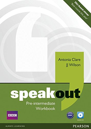 Speakout Pre-intermediate Workbook (no Key) and Audio CD