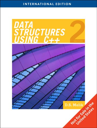 Data Structures Using C++, International Edition