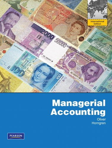 Managerial Accounting Plus MyAccountingLab Access Card with Full Ebook