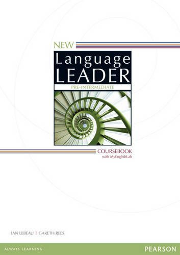New Language Leader Pre-intermediate coursebook and MEL pack pre-intermediate ( A2 )