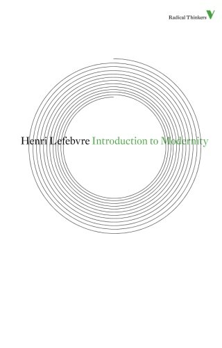 Introduction to Modernity (Radical Thinkers)