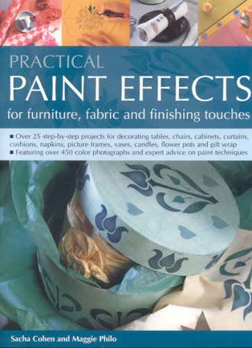 Practical Paint Effects for Furniture, Fabric and Finishing Touches