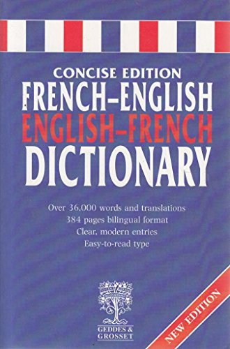 Webster s French-English, English-French Dictionary