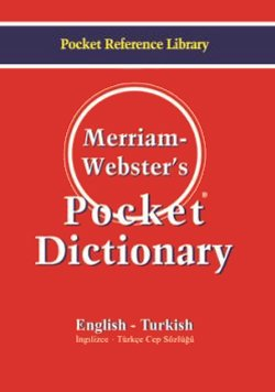 Merriam Webster's Pocket Dictionary English - Turkish  / Cep Sözlüğü
