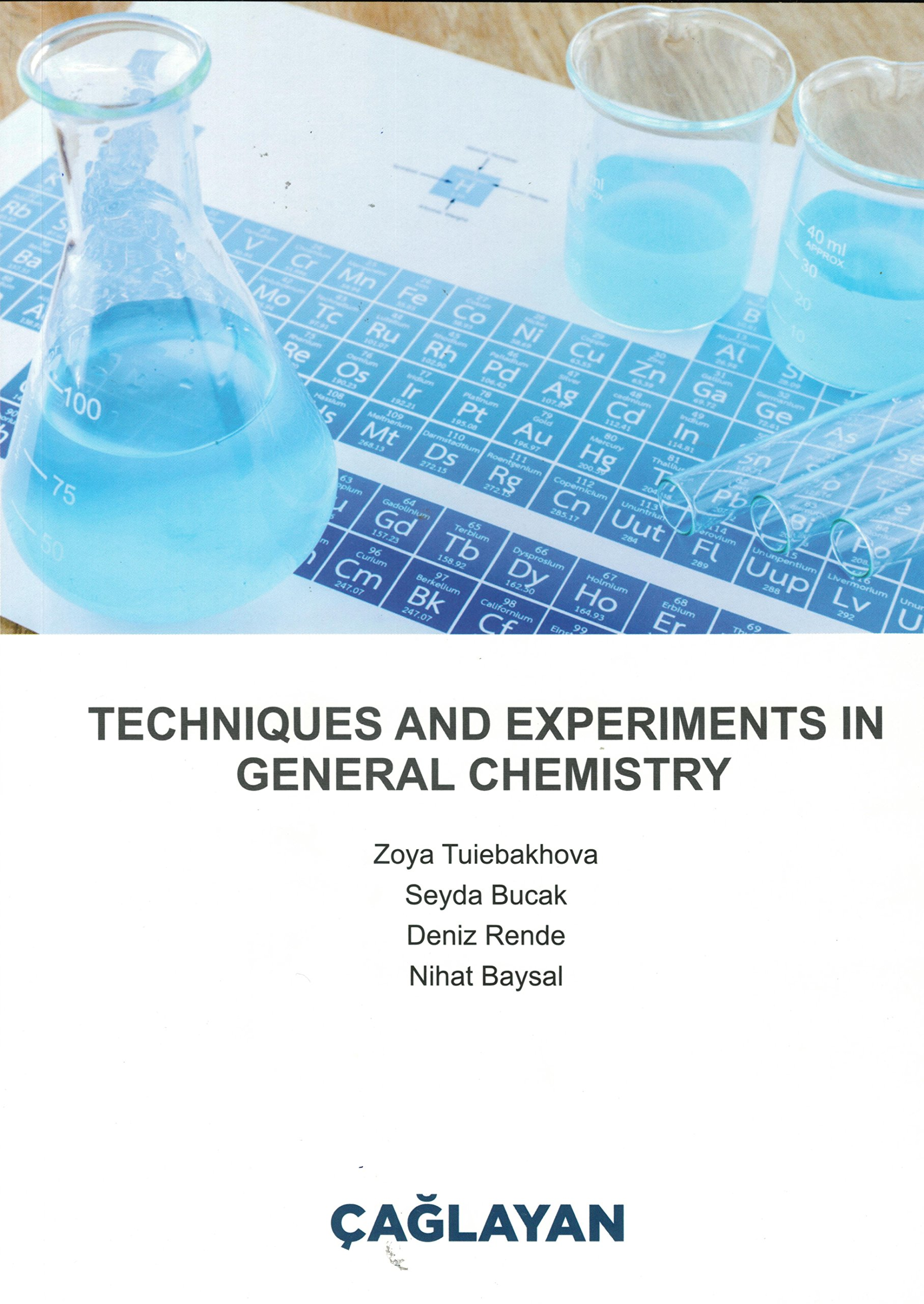 Techniques and experiments in general chemistry