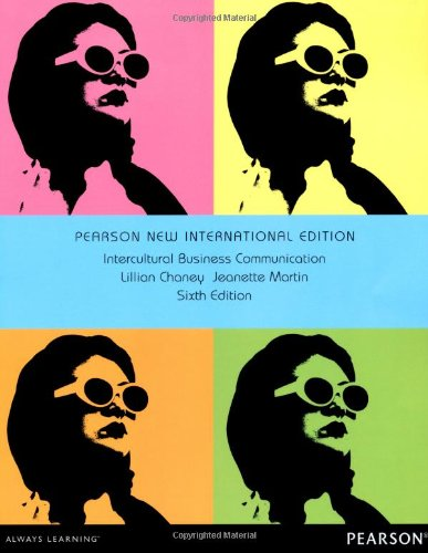 Intercultural Business Communication: Pearson New International Edition