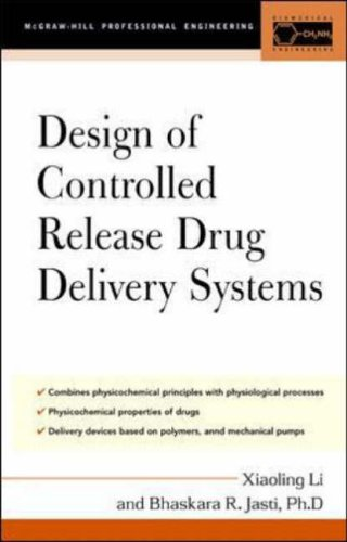 Design of Controlled Release Drug Delivery Systems (McGraw-Hill Chemical Engineering)