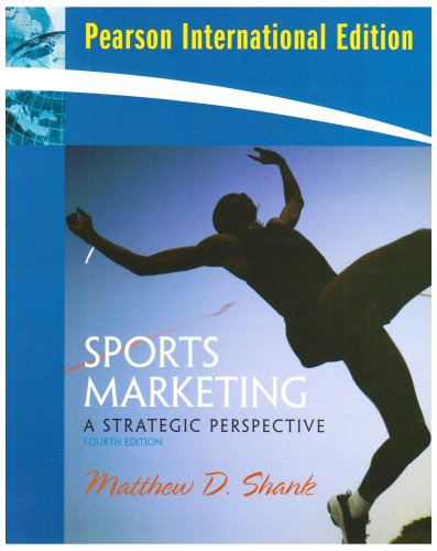 Sports Marketing:A Strategic Perspective: International Edition
