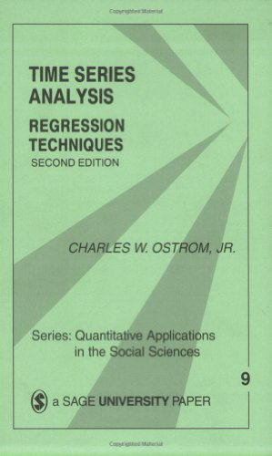 Time Series Analysis: Regression Techniques (Quantitative Applications in the Social Sciences)