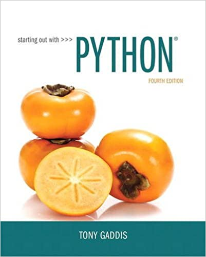 (KOD) (Computational Thinking) Gaddis, Starting Out With Python, 4/e (kitabın e-book erişimini içermektedir)