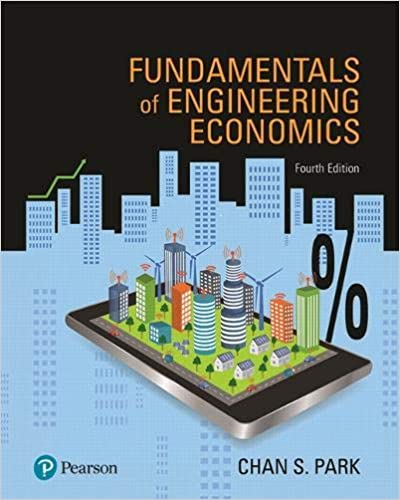 (KOD) (Engineering Economics) Park, Fundamentals of Engineering Economics, 4/e (kitabın e-book erişimini içermektedir)