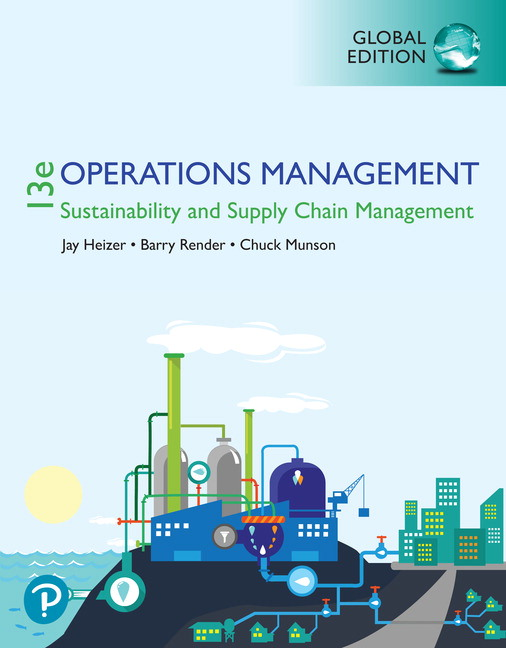 (KOD) (Manufacturing Processes and Operations Analysis) Heizer, Operations Management, 13/e (kitabın e-book erişimini içermektedir)